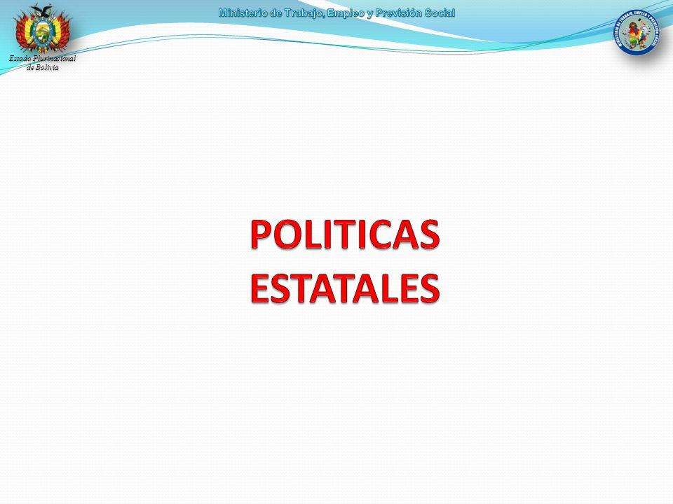 POLITICAS ESTATALES