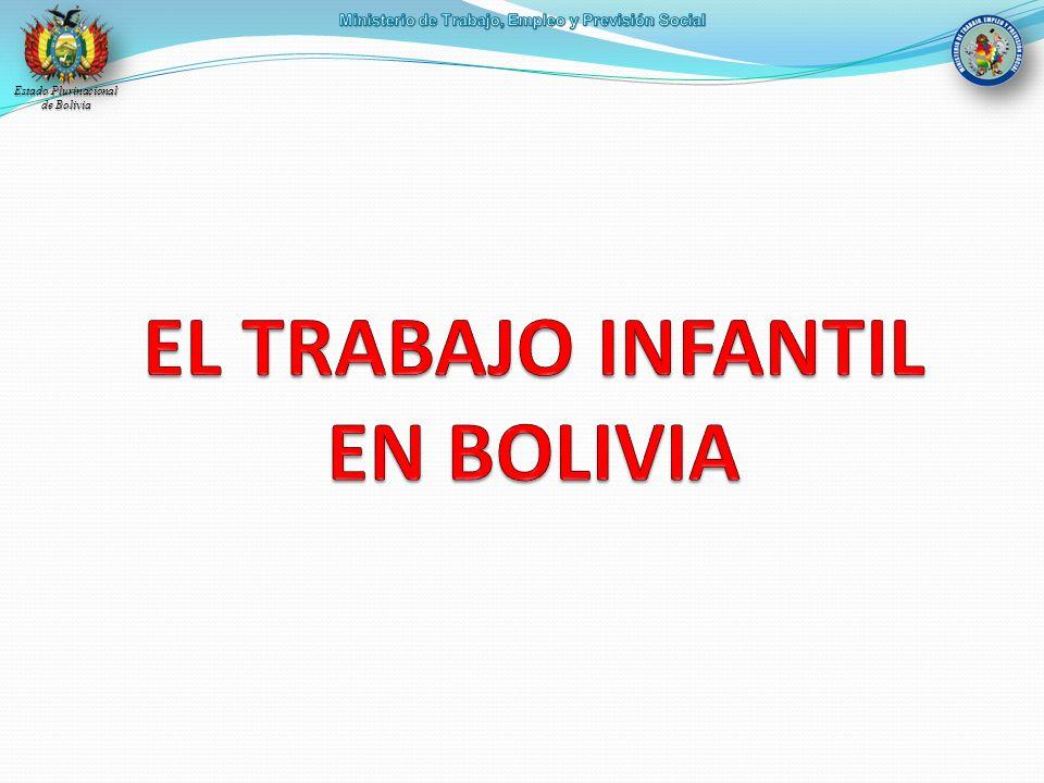 EL TRABAJO INFANTIL EN BOLIVIA