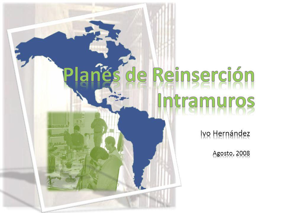 Planes de Reinserción Intramuros Ivo Hernández Agosto, 2008