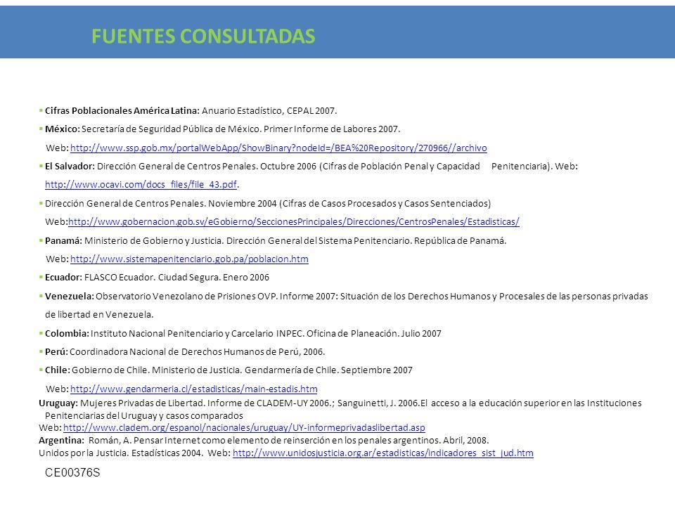 FUENTES CONSULTADAS CE00376S