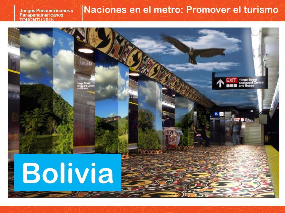 Naciones en el metro: Promover el turismo