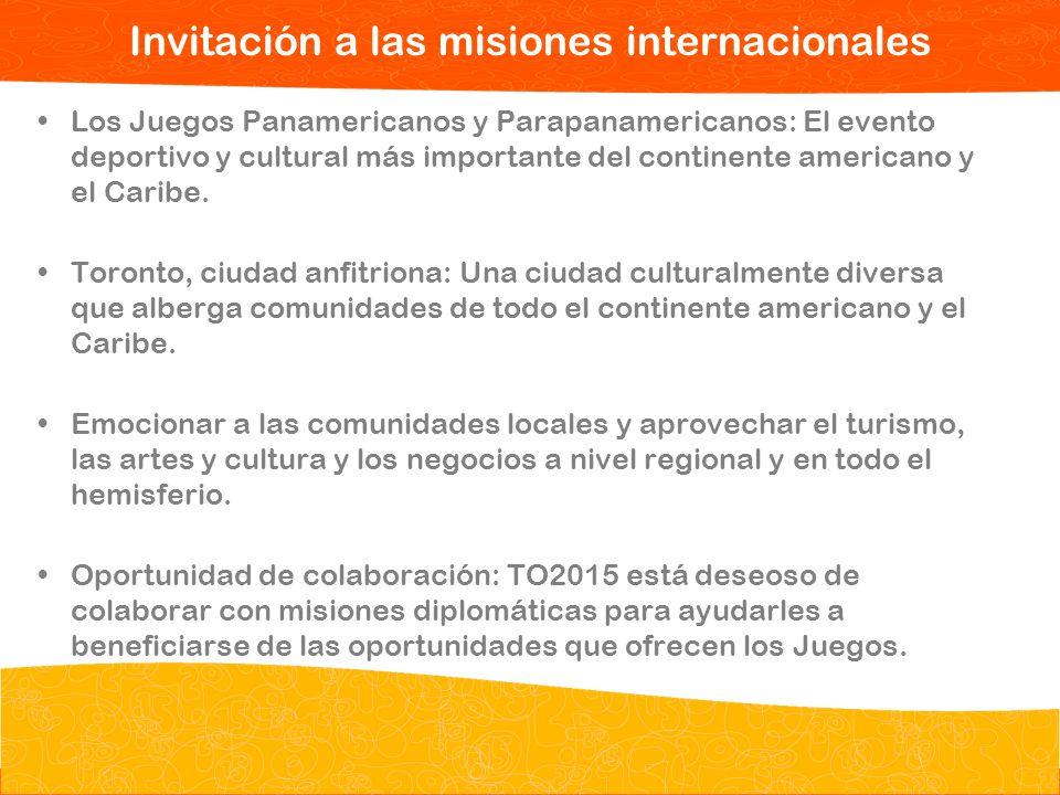 Invitación a las misiones internacionales