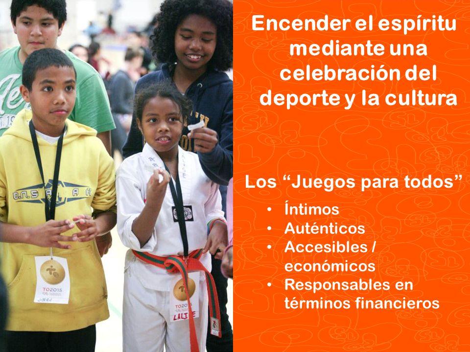 Encender el espíritu mediante una celebración del deporte y la cultura