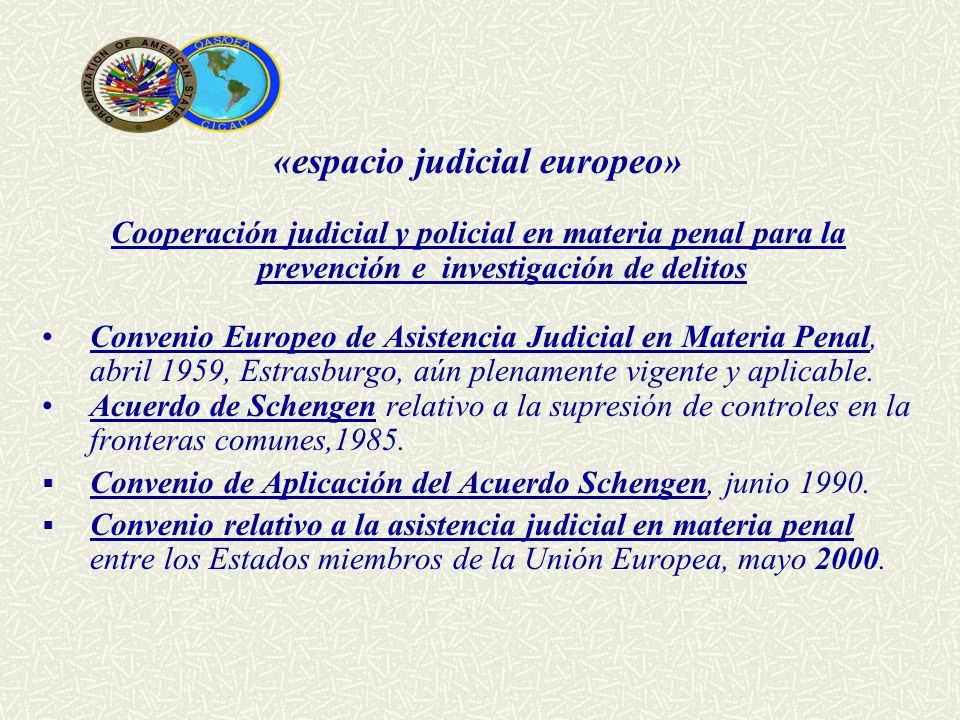 «espacio judicial europeo»