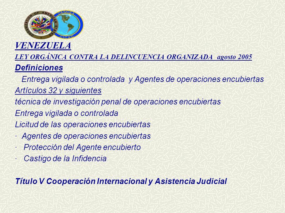 VENEZUELA Definiciones