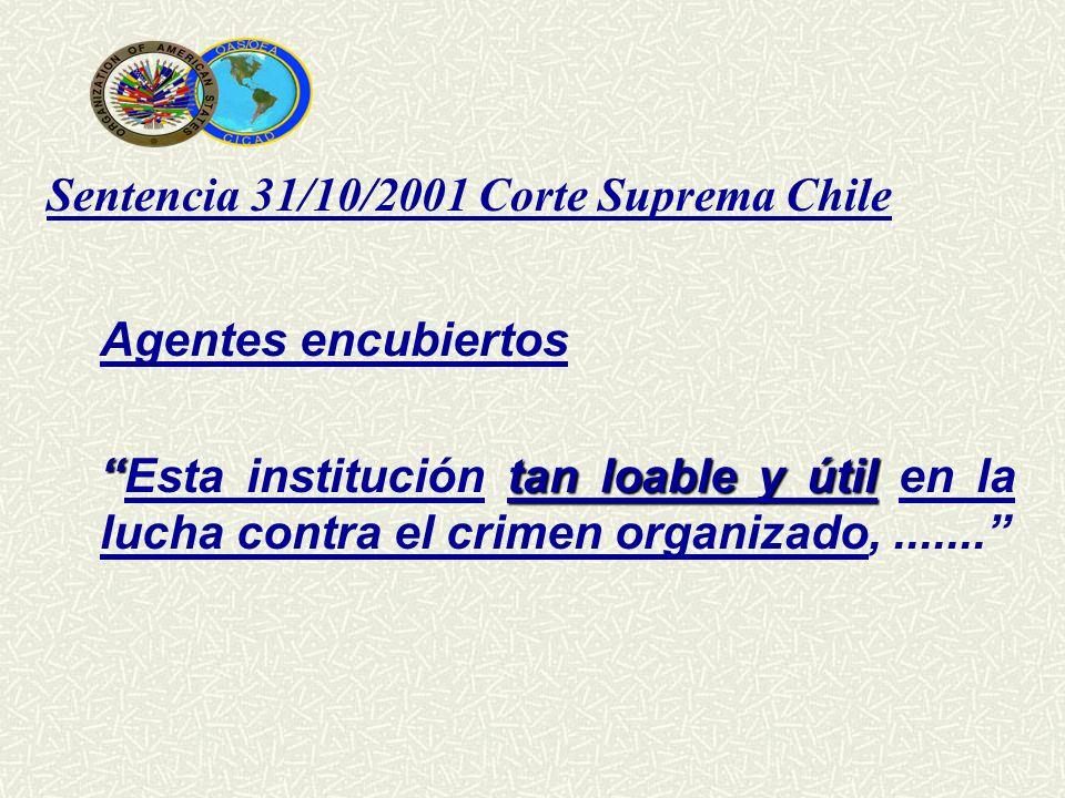 Sentencia 31/10/2001 Corte Suprema Chile
