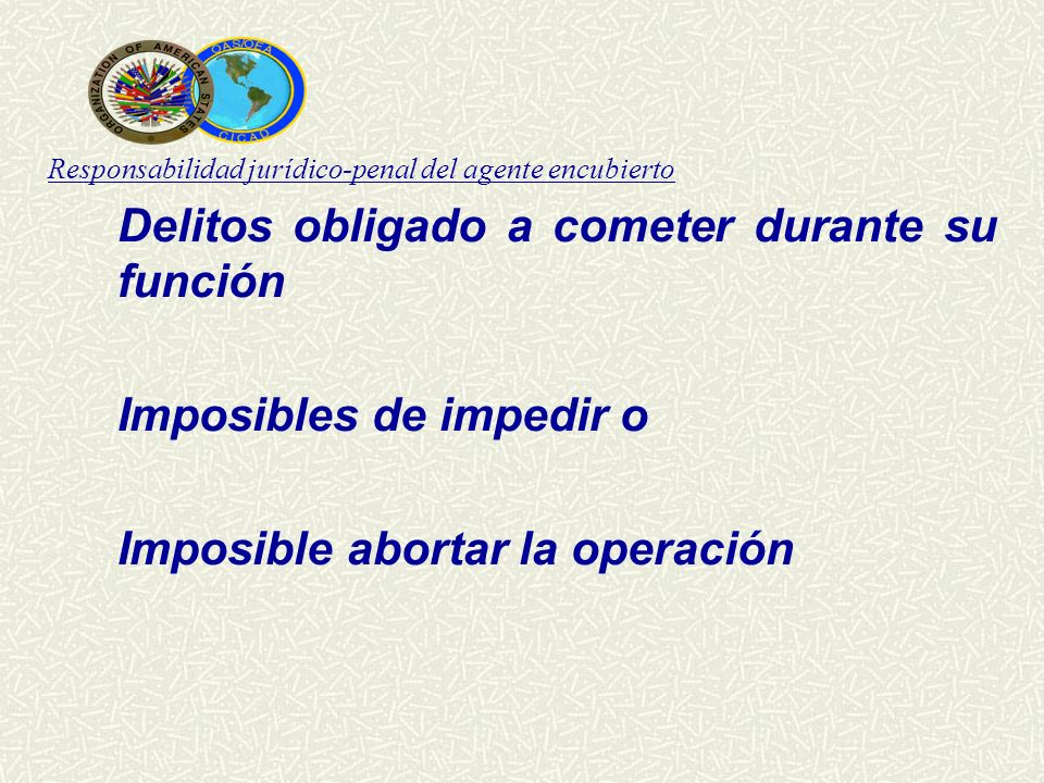 Imposibles de impedir o Imposible abortar la operación