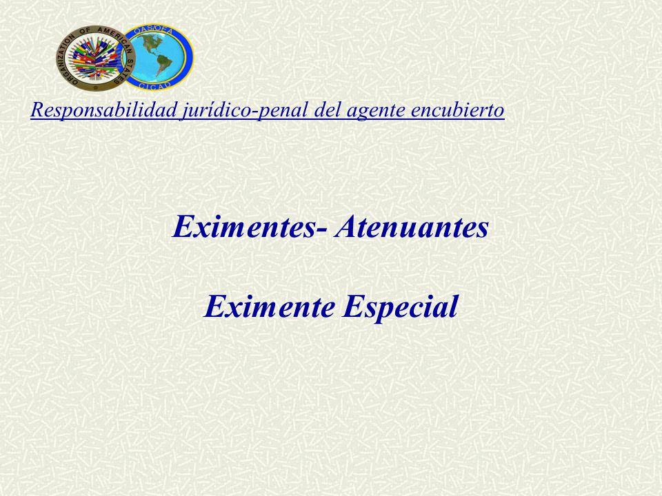 Eximentes- Atenuantes
