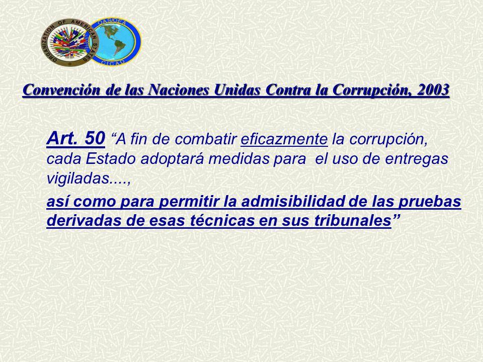 Convención de las Naciones Unidas Contra la Corrupción, 2003