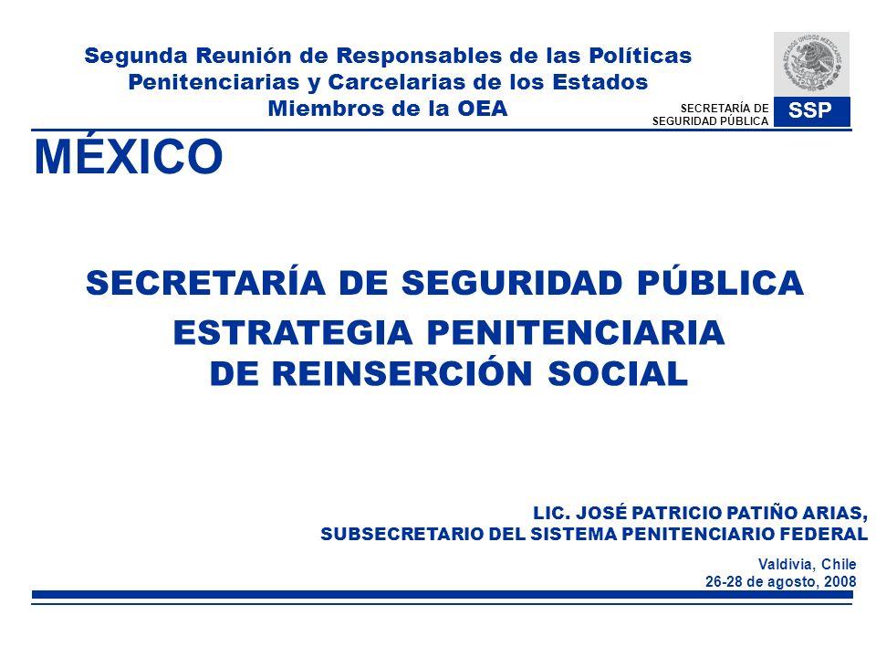 MÉXICO SECRETARÍA DE SEGURIDAD PÚBLICA