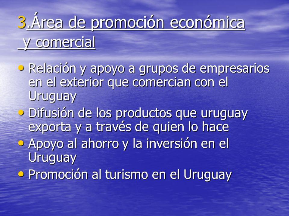 .Área de promoción económica y comercial