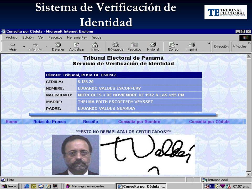 Sistema de Verificación de Identidad