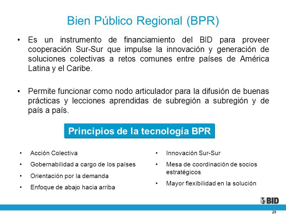 Bien Público Regional (BPR)