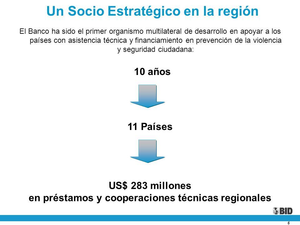 Un Socio Estratégico en la región