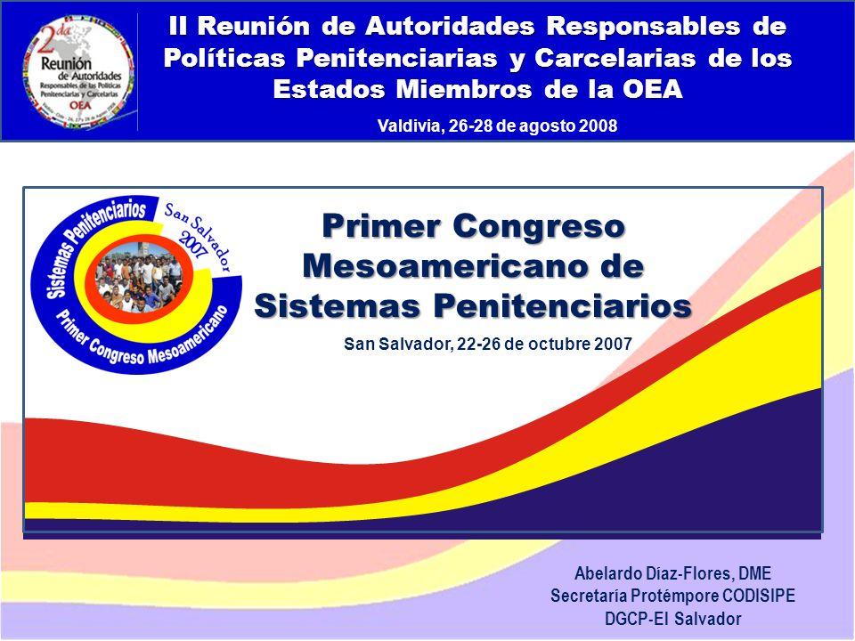 San Salvador, 22-26 de octubre 2007