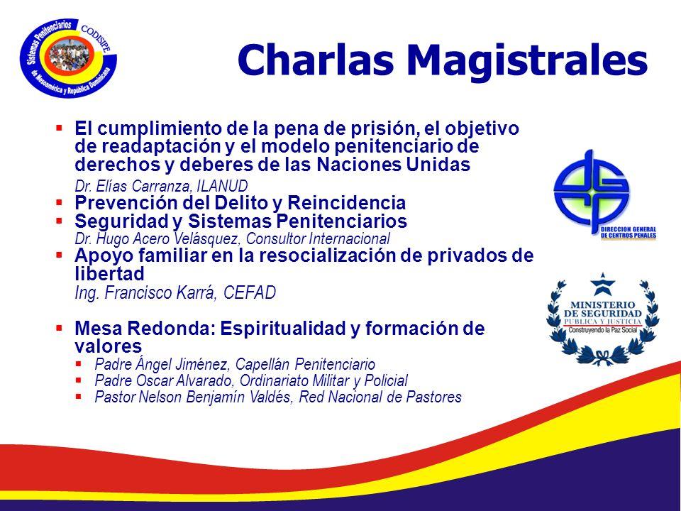 Charlas Magistrales