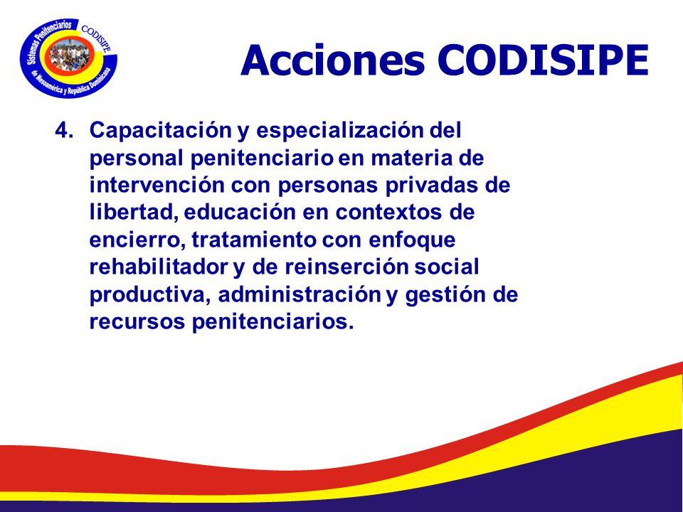 Acciones CODISIPE