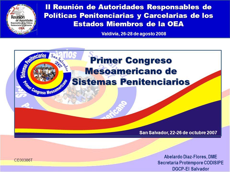 Abelardo Díaz-Flores, DME Secretaría Protémpore CODISIPE