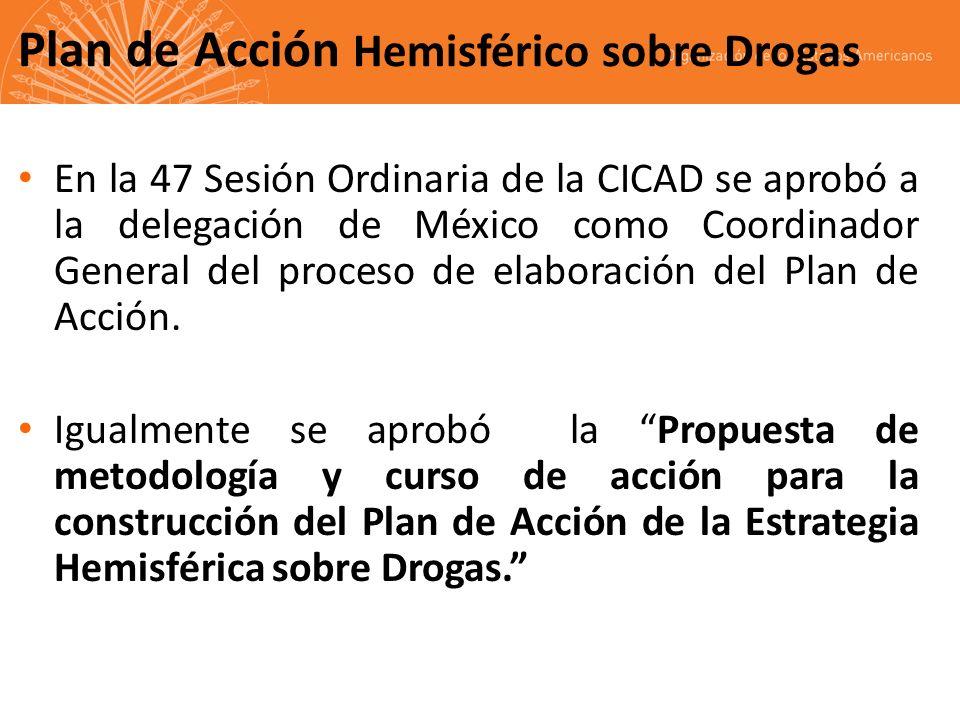 Plan de Acción Hemisférico sobre Drogas