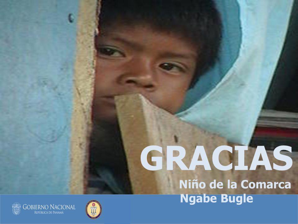 Niño de la Comarca Ngabe Bugle