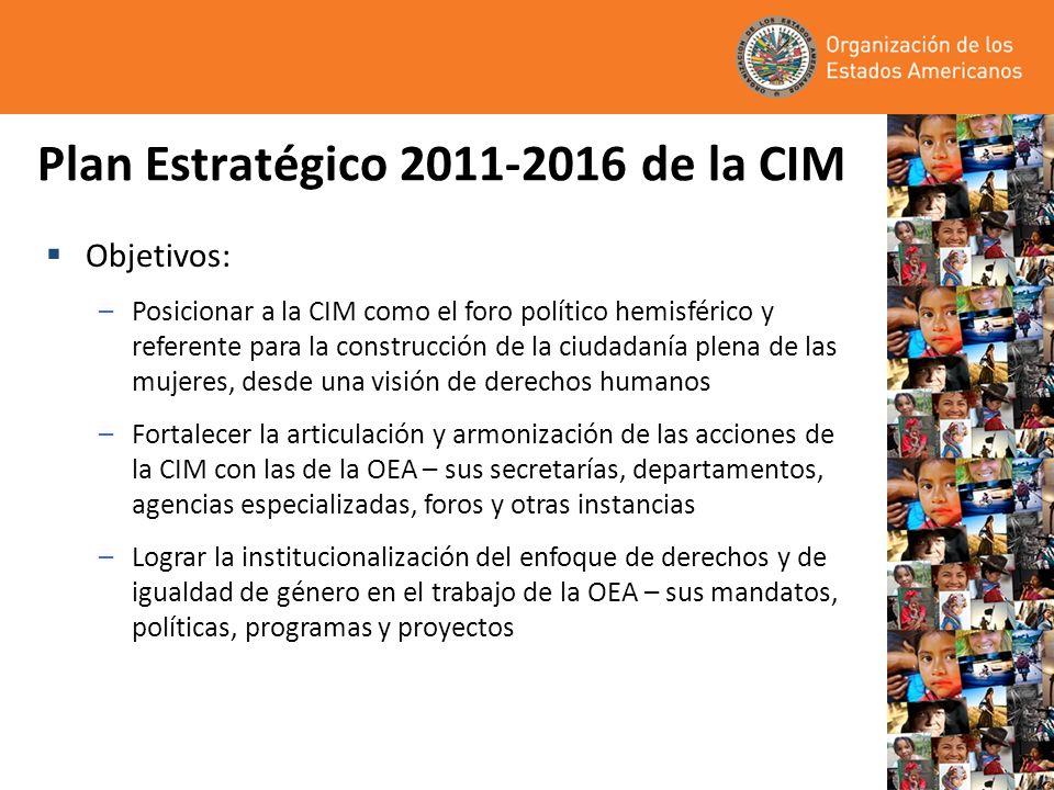 Plan Estratégico 2011-2016 de la CIM
