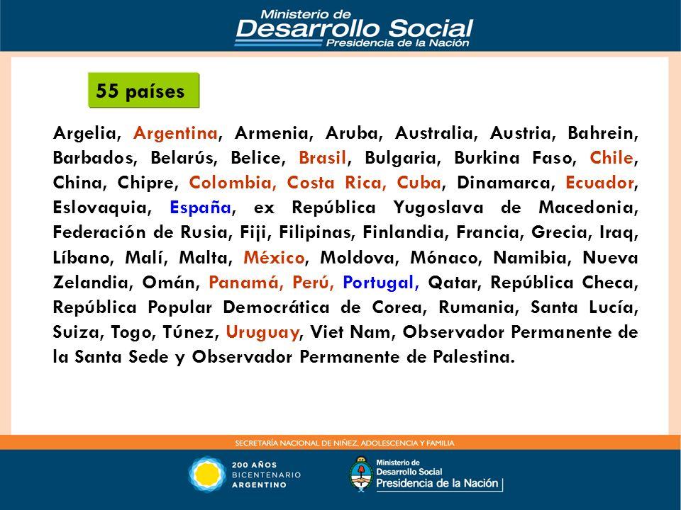 55 países