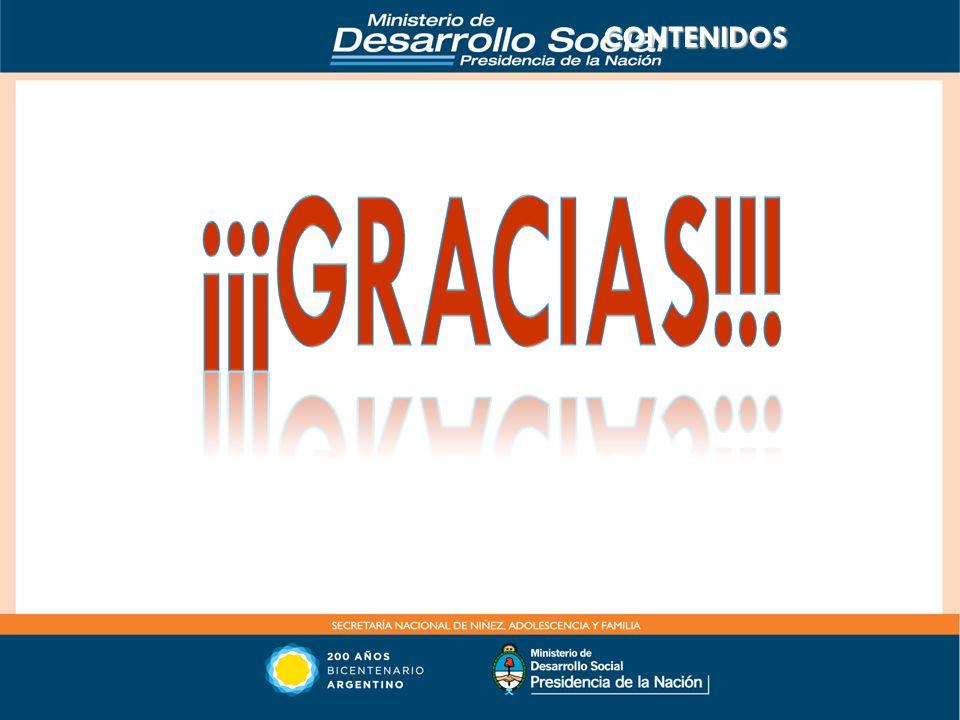 CONTENIDOS ¡¡¡Gracias!!!
