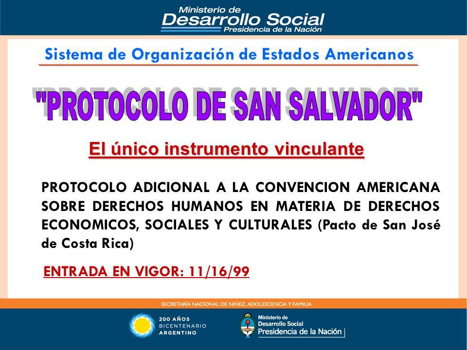 PROTOCOLO DE SAN SALVADOR