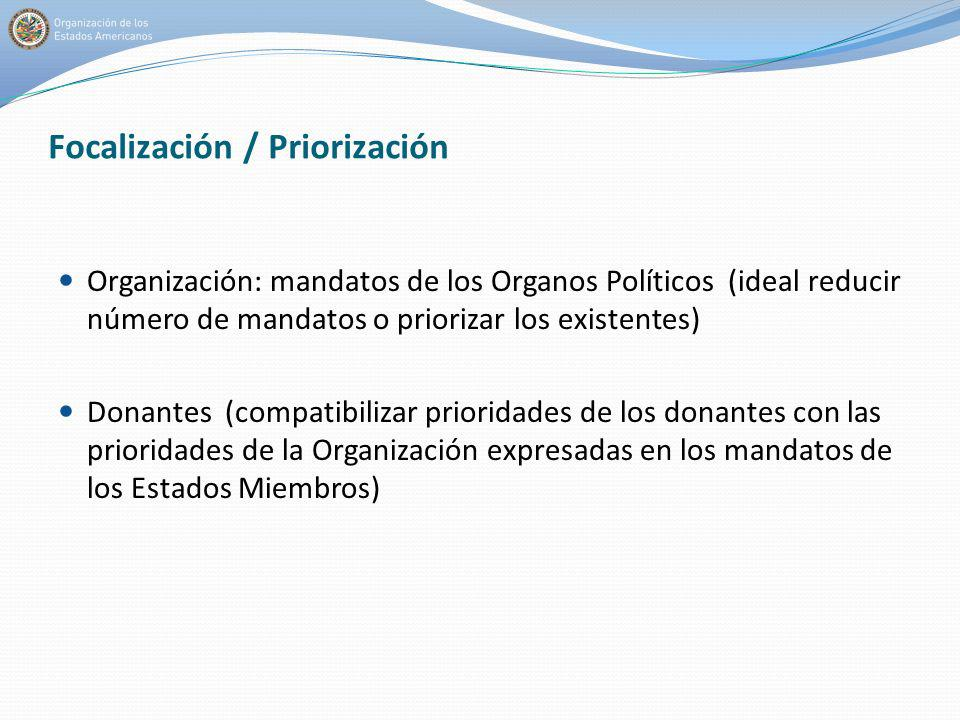 Focalización / Priorización