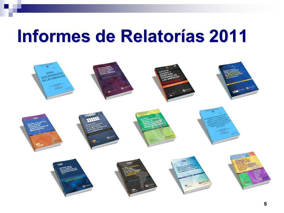 Informes de Relatorías 2011