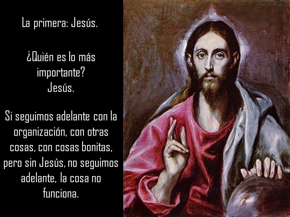 ¿Quién es lo más importante Jesús.