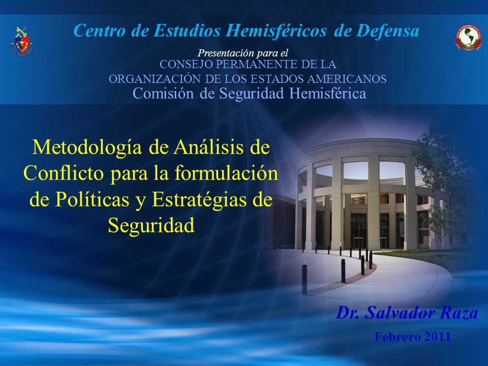 Centro de Estudios Hemisféricos de Defensa