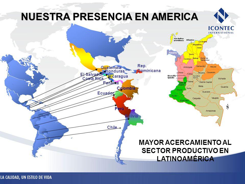NUESTRA PRESENCIA EN AMERICA