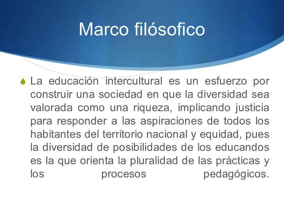 Marco filósofico