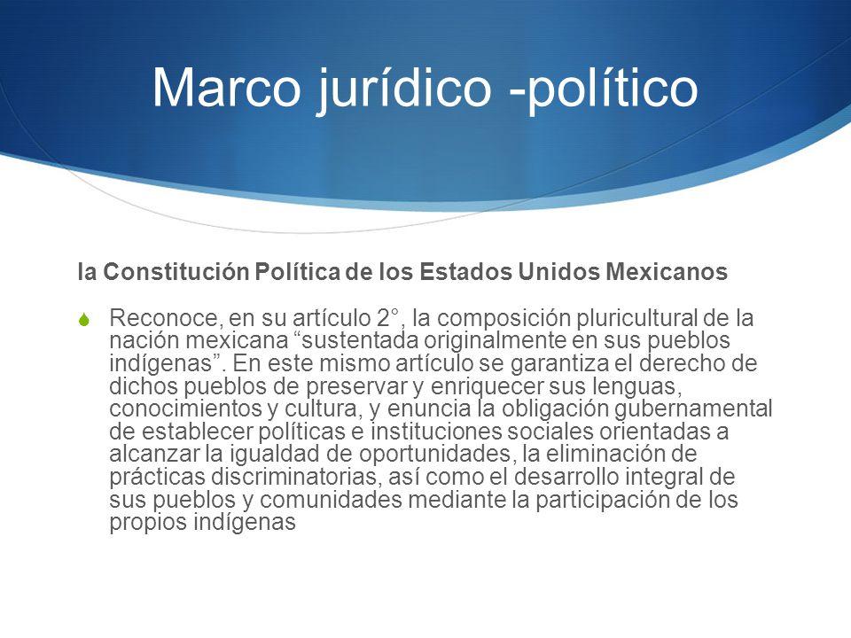 Marco jurídico -político