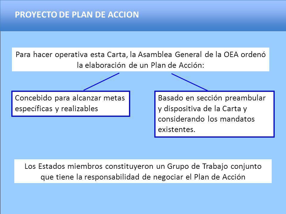 PROYECTO DE PLAN DE ACCION