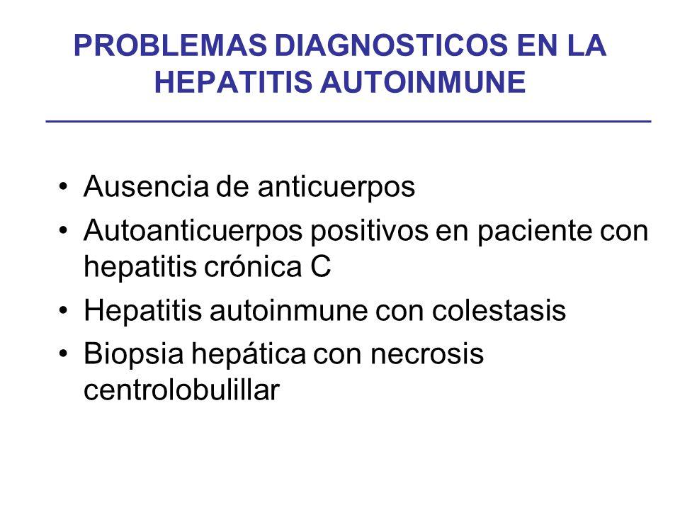 HEPATITIS AUTOINMUNE PROBLEMAS CLINICOS Y TERAPEUTICOS