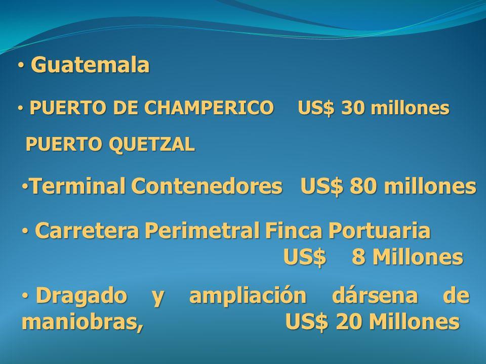 Terminal Contenedores US$ 80 millones