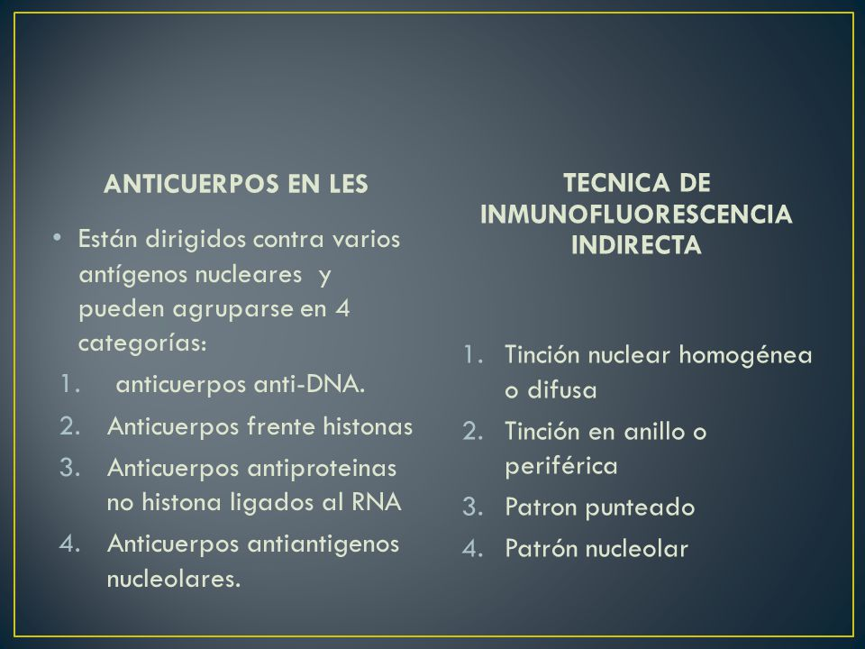 TECNICA DE INMUNOFLUORESCENCIA INDIRECTA