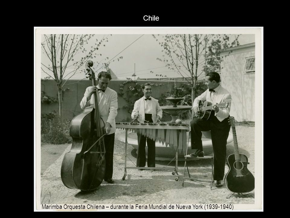 Chile Marimba Orquesta Chilena – durante la Feria Mundial de Nueva York (1939-1940)