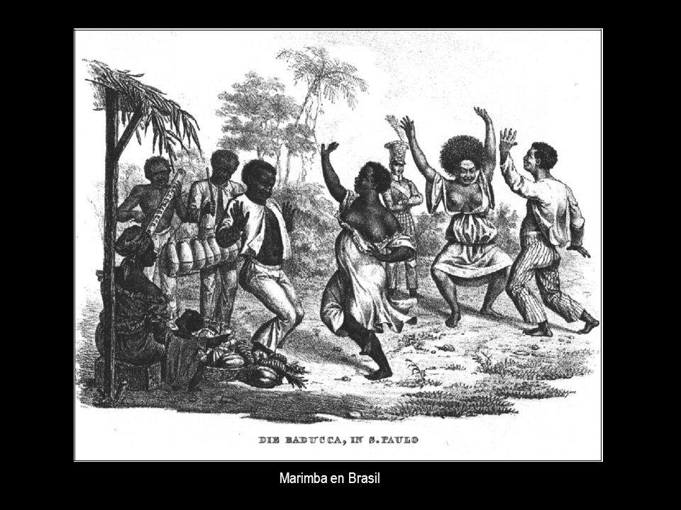 Marimba en Brasil