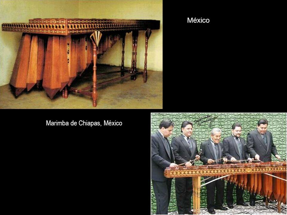 México Marimba de Chiapas, México