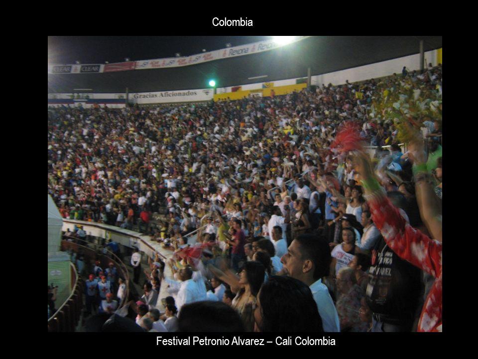 Colombia Festival Petronio Alvarez – Cali Colombia