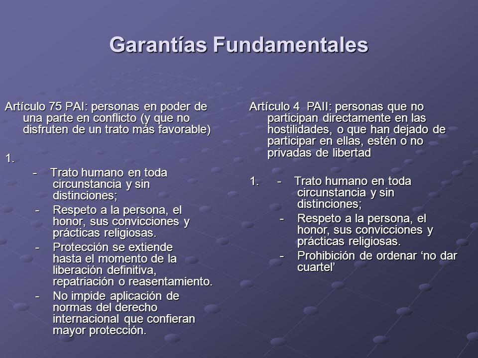 Garantías Fundamentales