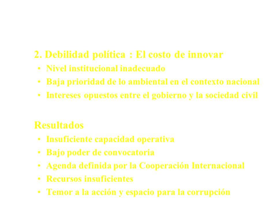 Potenciales Escenarios - (cont.)