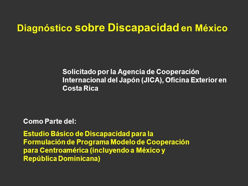 Diagnóstico sobre Discapacidad en México