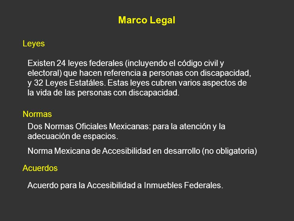 Marco Legal Leyes.
