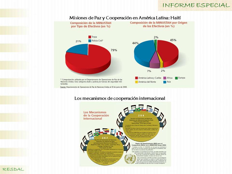 Misiones de Paz y Cooperación en América Latina: Haití
