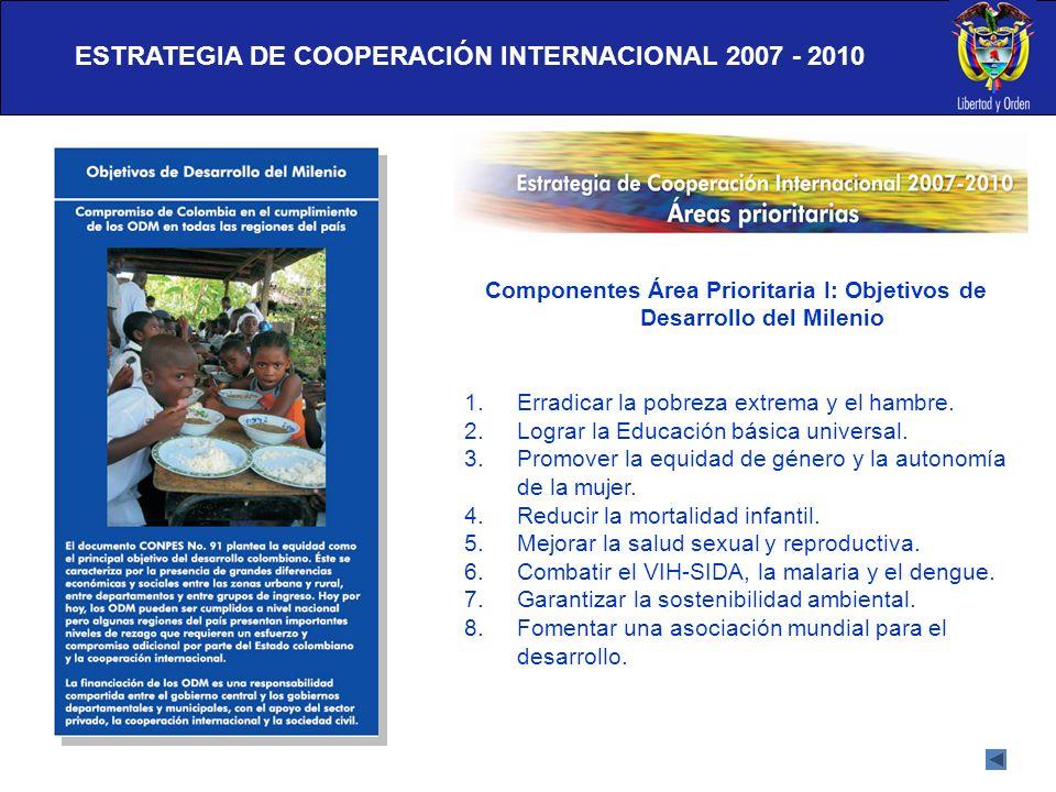 ESTRATEGIA DE COOPERACIÓN INTERNACIONAL 2007 - 2010