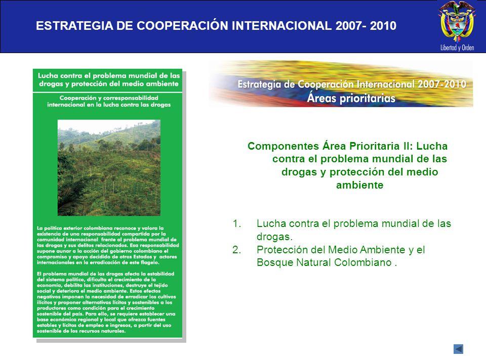 ESTRATEGIA DE COOPERACIÓN INTERNACIONAL 2007- 2010